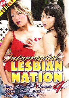 "Adult entertainment movie ""Interracial Lesbian Nation 4"" starring Lana Croft, Sabrine Maui & Sinai. Produced by Filmco."