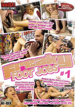 "Adult entertainment movie ""Freaky Foot Jobs"" starring Kerry Louise, Vicki Chase & Tiffany Star. Produced by Immoral Productions."
