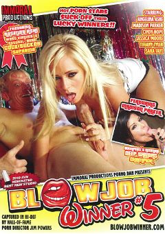"Adult entertainment movie ""Blowjob Winner 5"" starring Madison Parker, Angelina Ash & Isis Monroe. Produced by Immoral Productions."
