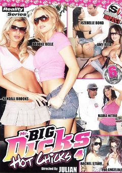 "Adult entertainment movie ""Mr. Big Dicks Hot Chicks 4"" starring Kendall Brooks, Brooke Belle & Nadia Nitro. Produced by Antigua Pictures."
