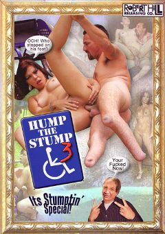 "Adult entertainment movie ""Hump The Stump 3"" starring Erick Bell. Produced by Robert Hill Releasing Co.."