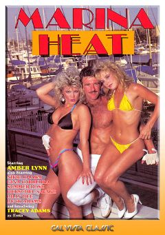 "Adult entertainment movie ""Marina Heat"" starring Tracey Adams, Amber Lynn & Gina Carrera. Produced by Cal Vista Classic."