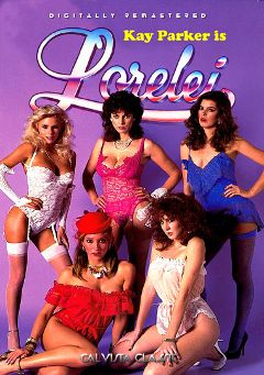 "Adult entertainment movie ""Kay Parker Is Lorelei"" starring Rikki Blake, Scarlet Scarleau & Lois Ayres. Produced by Cal Vista Classic."
