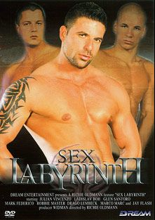 Sex Labyrinth, starring Glenn Santoro, Julian Vincenzo, Ladislav Bohar, Mark Federico, Kamil Fox, Jay Gregory, Drago Lembeck and Robbie Masters, produced by Dream Entertainment.