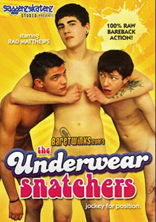 The Underwear Snatchers, starring Nick Ryan, Keith Conner, Rad Matthews and Preston Andrews, produced by Bare Twinks.