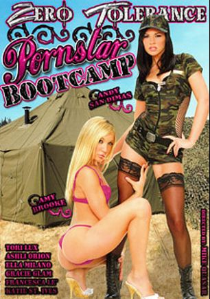 Pornstar Bootcamp, starring Amy Brooke, Andy San Dimas, Ella Milano, Tori Lux, Katie St. Ives, Gracie Glam, Ashli Orion, Dane Cross, Anthony Rosano, Marco Banderas, Mr. Pete, Danny Mountain, Toni Ribas, Mark Wood and Francesca Le, produced by Zero Tolerance.