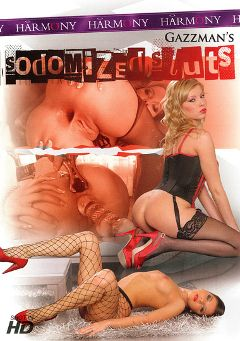 "Adult entertainment movie ""Sodomized Sluts"" starring Donna Bella, Henessy & Sharon Lee (f). Produced by Harmony Films Ltd.."