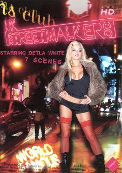 "Adult entertainment movie ""UK Streetwalkers"" starring Delta White, Tia Layne & Michelle Moist. Produced by Harmony Films Ltd.."