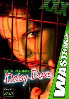 "Adult entertainment movie ""Sex Slave Daisy Duxe 3"" starring Daisy Duxxx & Master Rob. Produced by Wasteland Studios."