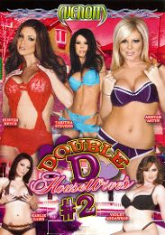 """Featured Category - Wife presents the adult entertainment movie """"Double D Housewives 2""""."""
