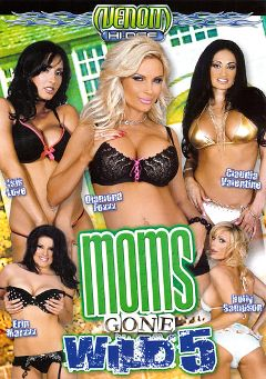 "Adult entertainment movie ""Moms Gone Wild 5"" starring Erin Marxxx, Holly Sampson & Claudia Valentine. Produced by Venom Digital Media."