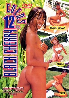 "Adult entertainment movie ""Black Cherry Coeds 12"" starring Shai, Kenya & Brown Sugar. Produced by Heatwave Entertainment."