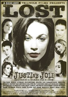 "Adult entertainment movie ""Justine Joli Lost"" starring Syd Blakovich, Claire Adams & Sasha Grey. Produced by Triangle Films."