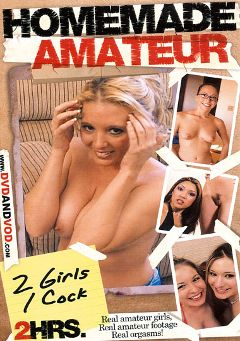 "Adult entertainment movie ""Homemade Amateur: 2 Girls 1 Cock"". Produced by Caballero Video."