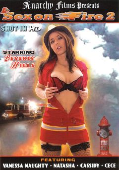 "Adult entertainment movie ""Sex On Fire 2"" starring Beverly Hills, Vanessa Naughty & Cece. Produced by Anarchy Films."