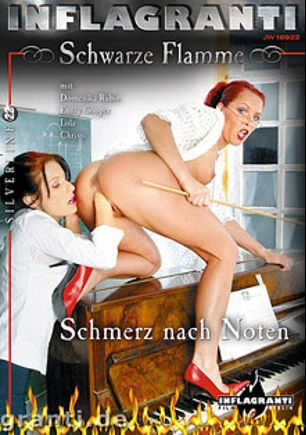 Schwarze Flamme Silverline 22: Schmerz Nach Noten, starring Chrissi K., Domenika Rubin, Emily Cooper and Lola, produced by Inflagranti Film Berlin.