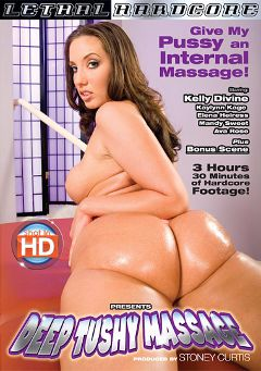 "Adult entertainment movie ""Deep Tushy Massage"" starring Kelly Divine, Kaylynn Kage & Mandy Sweet. Produced by Lethal Hardcore."