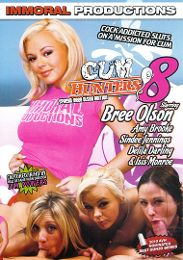 "Just Added presents the adult entertainment movie ""Cum Hunters 8""."