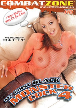 My First Black Monster Cock 4, starring Kitty Jane, Olga Barz, Candra, Katy Sweet and Patricia, produced by Combat Zone.