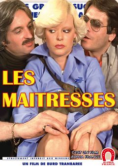 "Adult entertainment movie ""The Mistresses"" starring Karine Gambier, Richard Allan & Guy Royer. Produced by ALPHA-FRANCE."