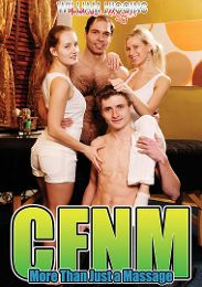 "Featured Category - Massage presents the adult entertainment movie ""CFNM More Than Just A Massage""."