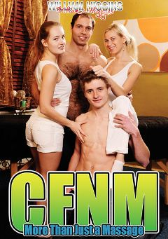 "Adult entertainment movie ""CFNM More Than Just A Massage"". Produced by William Higgins."