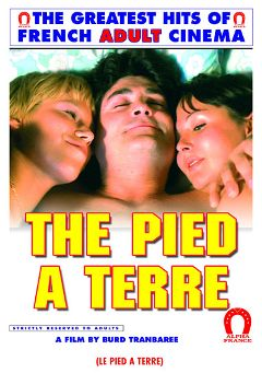 "Adult entertainment movie ""The Pied A Terre"" starring Elisabeth Bure, Marianne Aubert & Richard Allan. Produced by ALPHA-FRANCE."