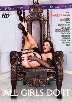 "Adult entertainment movie ""All Girls Do It"" starring Lolly Badcock, Bailee & Jay R.. Produced by Harmony Films Ltd.."