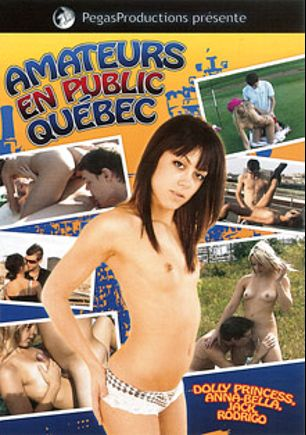 Amateurs En Public Quebec, starring Dolly Princess and Anna Bella, produced by Pegas Productions.