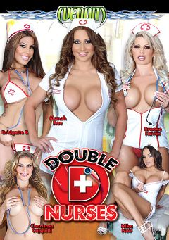"Adult entertainment movie ""Double D Nurses"" starring Charisma Cappelli, Alanah Rae & Bridgette B.. Produced by Venom Digital Media."