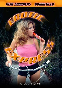 "Adult entertainment movie ""Erotic Express"" starring Rene Summers, Larry Harwood & Marc Wallice. Produced by VCX Home Of The Classics."