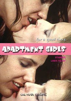 "Adult entertainment movie ""Apartment Girls"" starring Linda Talley & Larry Thomas. Produced by Cal Vista Classic."