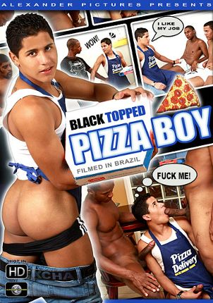 Gay Adult Movie Black Topped Pizza Boy