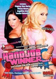"Just Added presents the adult entertainment movie ""Handjob Winner 7""."