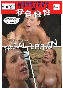 "Adult entertainment movie ""Monsters Of Jizz 24: Facial Edition"". Produced by Image Video."