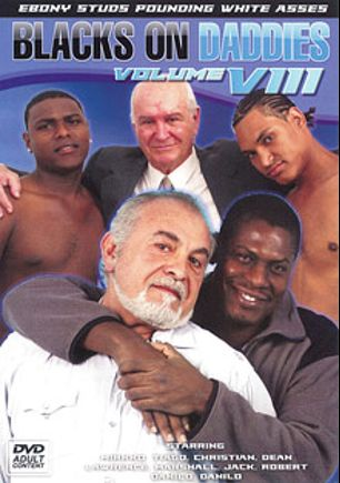 Blacks On Daddies 8, starring Danilo, Christian (m), Lawrence, Jack, Mirkko, Tiago, Robert and Marshall, produced by Older4Me.