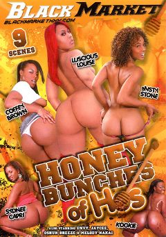 "Adult entertainment movie ""Honey Bunches Of Hos"" starring Luscious Louis, Coffee Brown & Kookie. Produced by Black Market Entertainment."