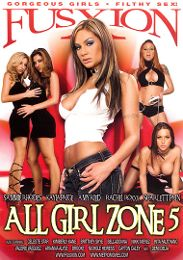 """Featured Category - Lesbian presents the adult entertainment movie """"All Girl Zone 5""""."""