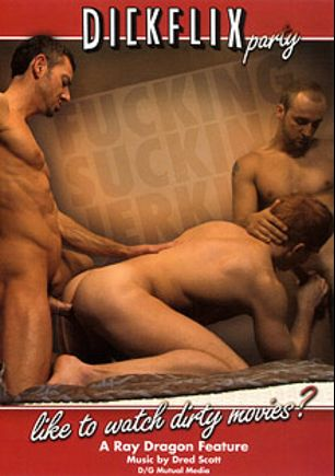 Dickflix Party, starring Bryan Slater, James Hawke, Blu Kennedy, Les Hendrix, Trae Angle, Jay Scorpio and Brandon Aguilar, produced by Gage Media and Dragon Media.