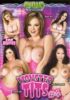 "Adult entertainment movie ""Monster Tits 4"" starring Katie Kox, Jaylene Rio & Jessica Bangkok. Produced by Venom Digital Media."