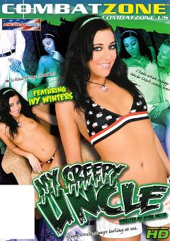 "Adult entertainment movie ""My Creepy Uncle"" starring Ivy Winters, Eva Sinn & Kinley Knight. Produced by Combat Zone."