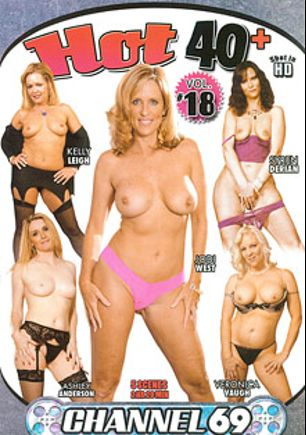 Hot 40 Plus 18, starring Veronica Vaughn (l), Syren Derian, Jodi West, Ashley Anderson and Kelly Leigh, produced by Channel 69.