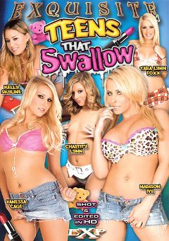 "Adult entertainment movie ""Teens That Swallow"" starring Vanessa Cage, Tara Lynn Foxx & Madison Ivy. Produced by EXP Exquisite."