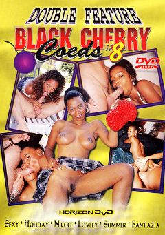 "Adult entertainment movie ""Black Cherry Coeds 8"" starring Ms. Sexxy, Fantazja & Summer Smith. Produced by Heatwave Entertainment."