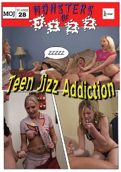 "Adult entertainment movie ""Monsters Of Jizz 28: Teen Jizz Addiction"". Produced by Image Video."