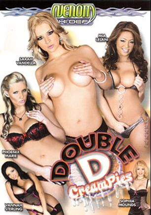 Double D Creampies, starring Vannah Sterling, Phoenix Marie, Sarah Vandella, Mia Lelani, Sophia Mounds, Alec Knight, Marco Banderas, Seth Dickens and Talon, produced by Venom Digital Media.