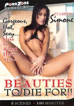 "Adult entertainment movie ""Beauties To Die For"" starring Simone Style. Produced by Porn Zone Entertainment."