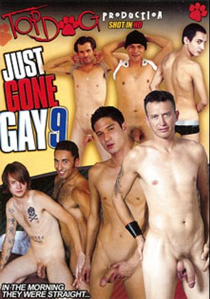 Just Gone Gay 9, starring Kit Deschanel, Holden (m), Derrick Paul, Gabriel D'Alessandro, Curtis, Giovanni, Gino, Stray Philadelphia and Steve, produced by Top Dog Production and Magnus Productions.