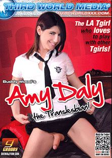 Amy Daly The Translesbian, starring Amy Daly, Juliette Stray, Bee Armitage, Kimberly Kills, Hazel Tucker and Mandy Mitchell, produced by Third World Media.