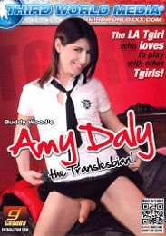 """Editors' Choice presents the adult entertainment movie """"Amy Daly The Translesbian""""."""